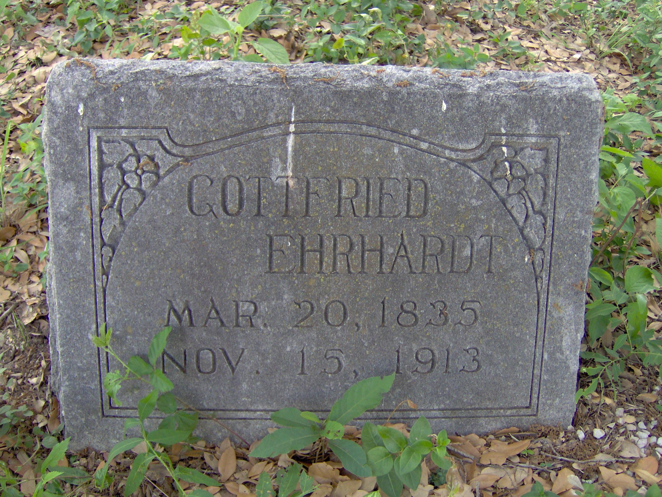 Ehrhardt Gottfried April