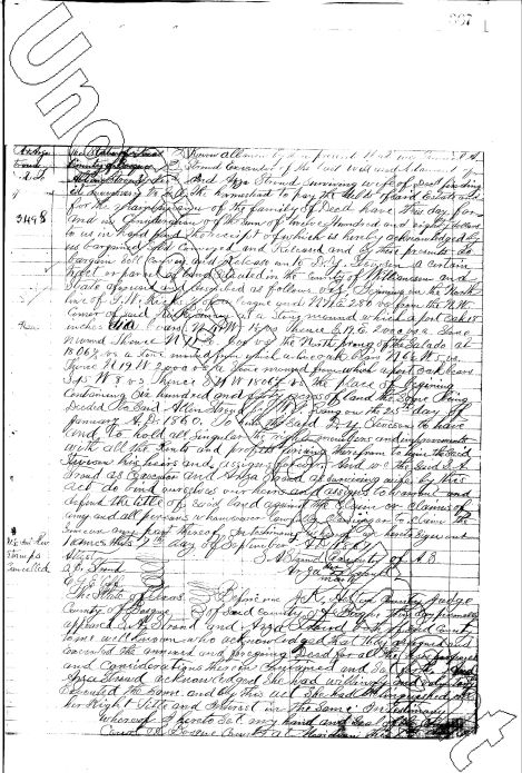 Deed dated 12 Oct 1867